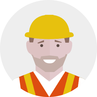 WordPress onderhoud - werkende man